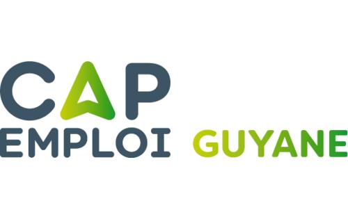 Logo Cap emploi 973 Guyane, Matoury (Réseau Cap emploi)